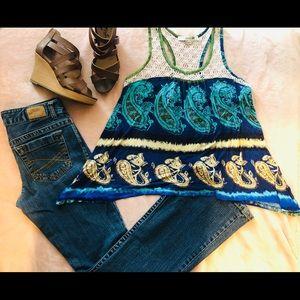 Jeans skinny / flare